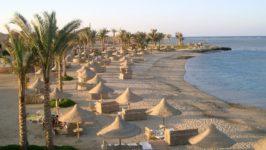 Песчаные пляжи в Египте