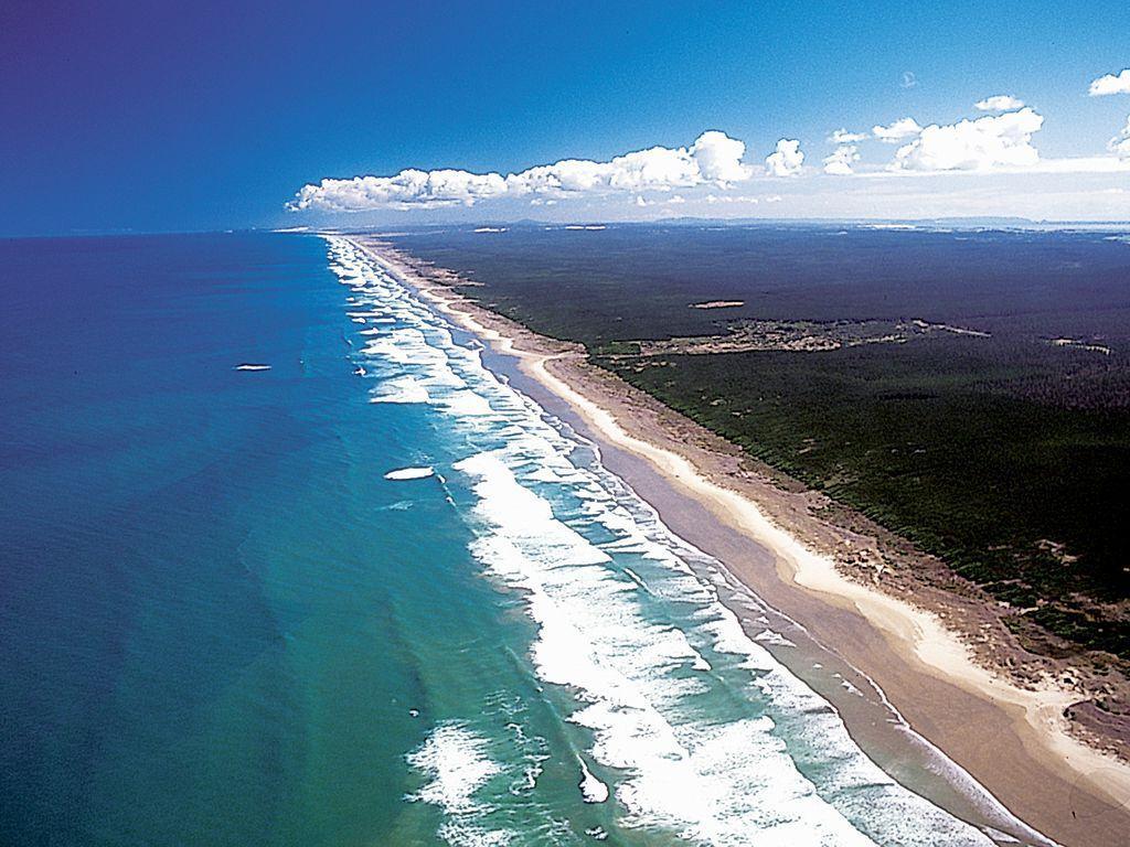 Самый длинный пляж Новой Зеландии