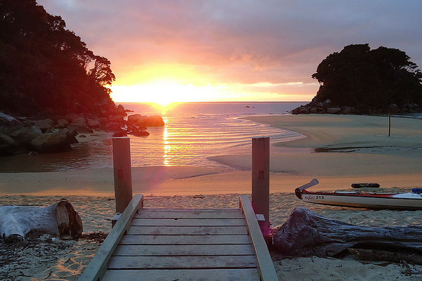 Пляжи национального парка Abel Tasman
