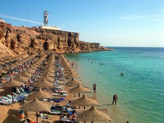 Пляж Шарм Эль Шейха