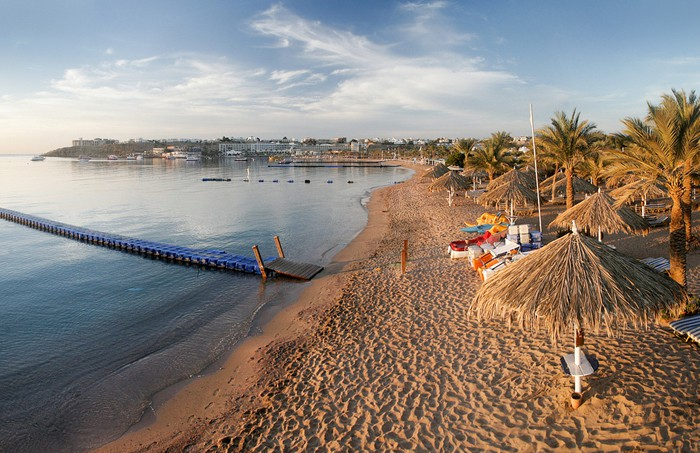 Песчаные пляжи Шарм Эль Шейха
