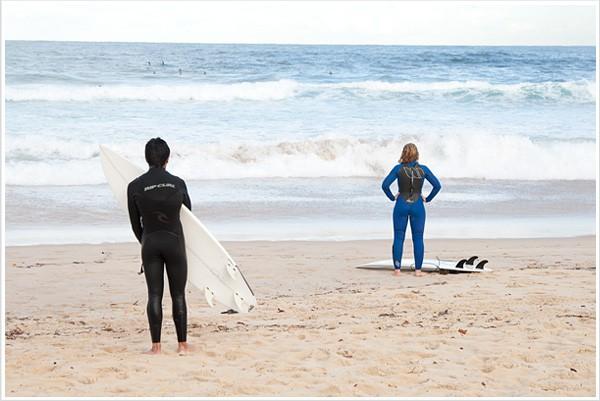 Пляж серферов Bondi