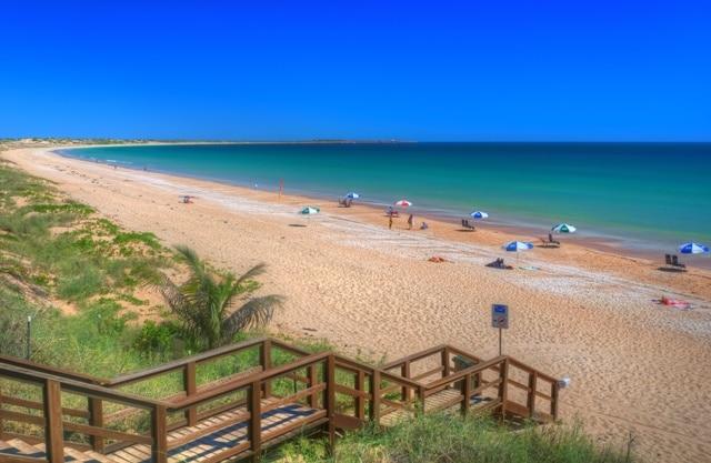 Пляж Cable Beach