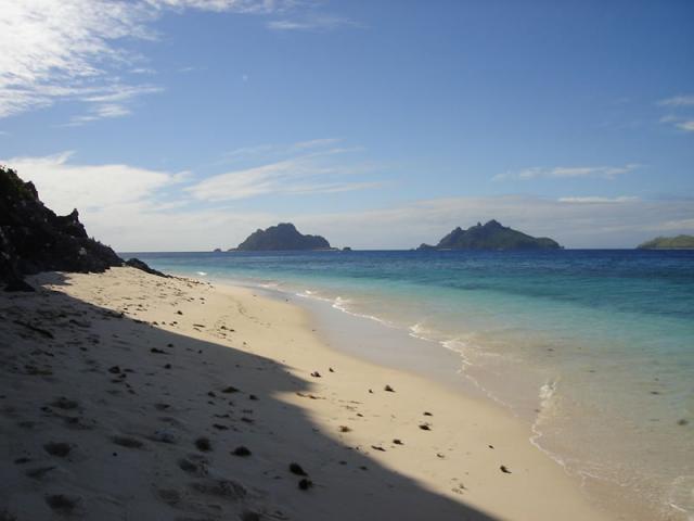 Фиджи пляжи с удобным пологим берегом