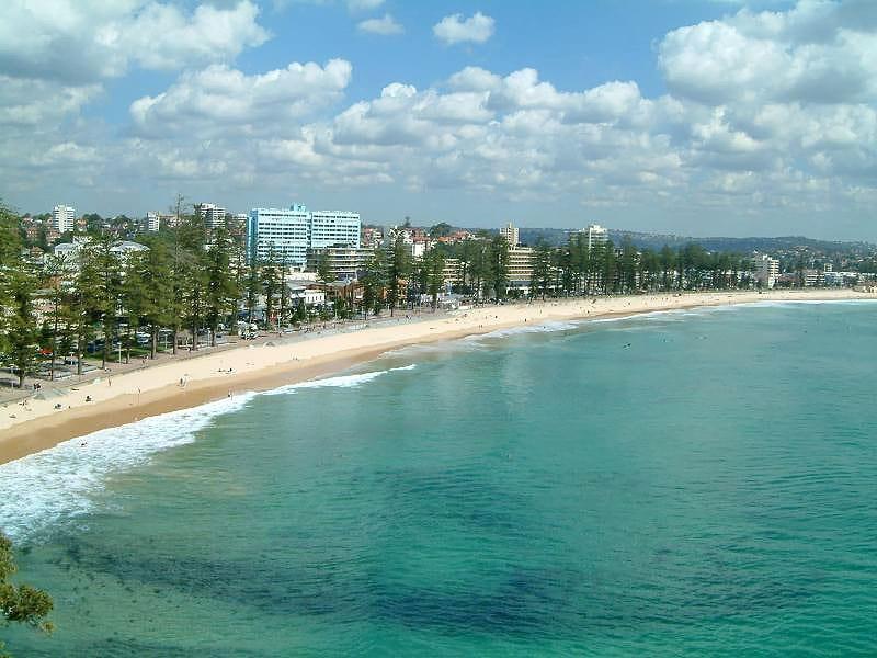 Пляж Manly