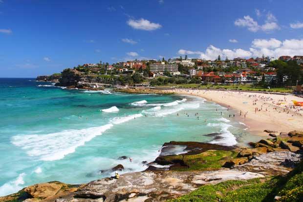 Пляжи Мельбурна и Сиднея
