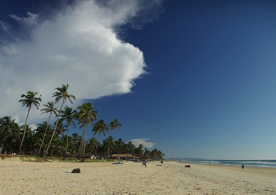 Фото пляжа Колва