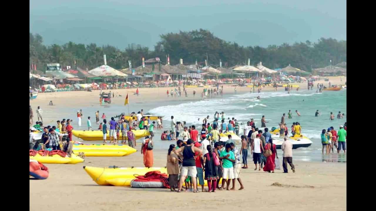 Пляж Бага Гоа фото