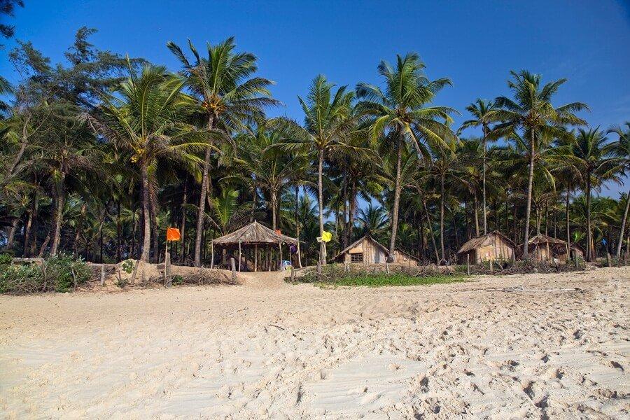 Пляж Колва Гоа фото