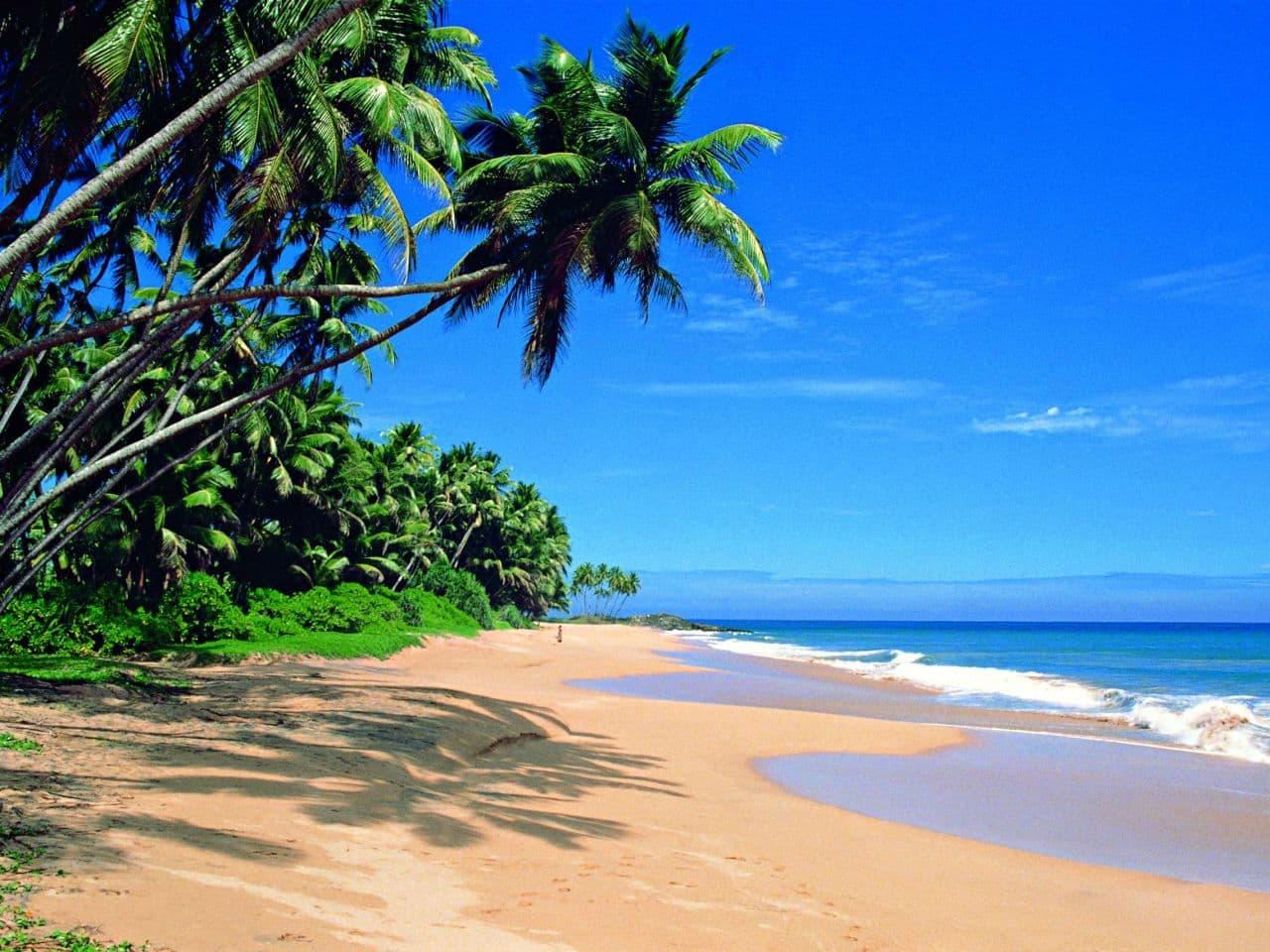 Остров Шри-Ланка -пляжи