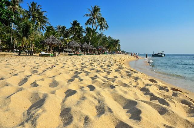 Чудесный пляж Ланг Ко
