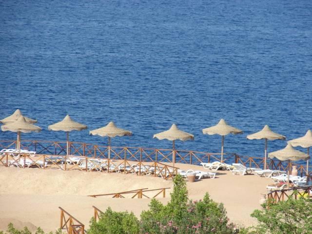 Пляж нудистов в Египте