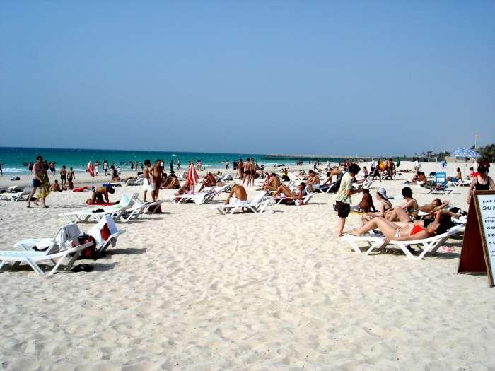Центральный пляж Дубая