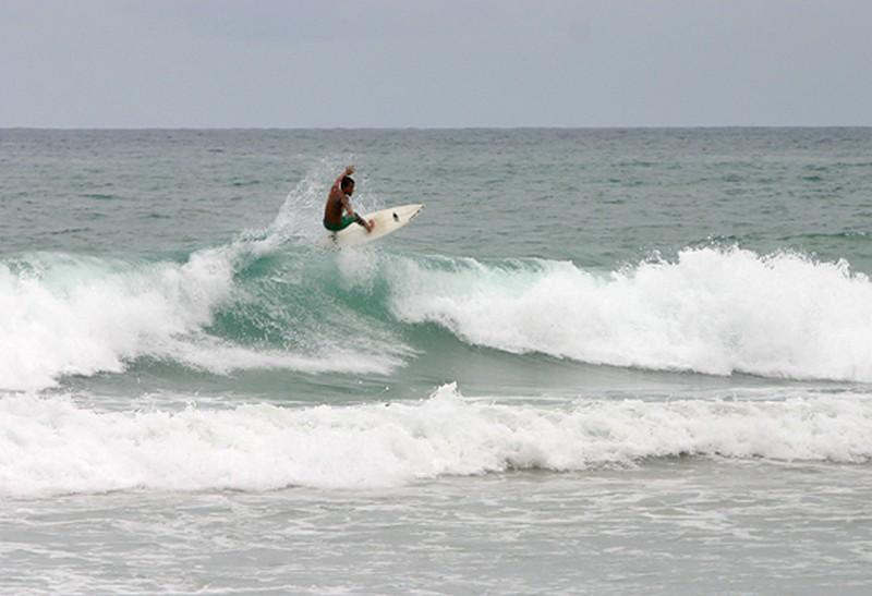 Серфинг на  Карон
