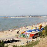 побережье Азовского моря в Ейске