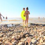 каменистый пляж Ейск