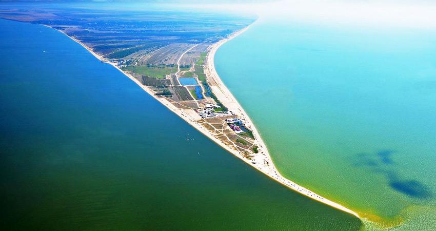 Должанская коса Азовское море