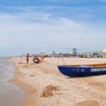 Азовское море пляж Должанское