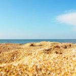 Голубицкая песчаный пляж