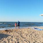 отдых на пляже станция Голубицкая