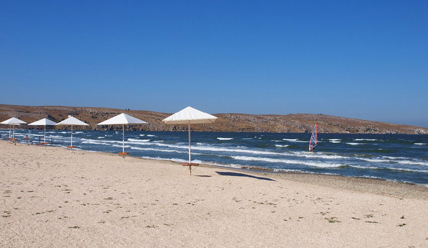пляжи села Мысовое