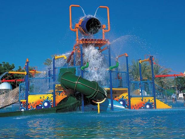 Дрим Ленд -аквапарк ОАЭ