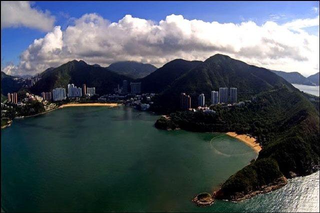 Гонконг удивительный пляжный город