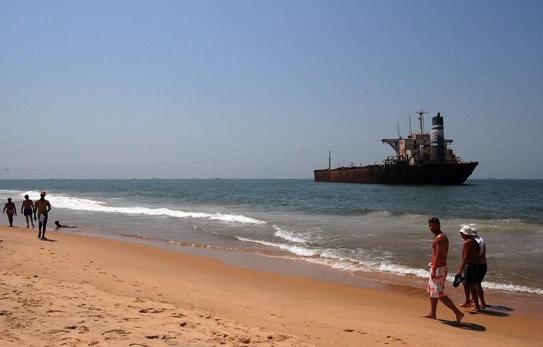 Пляжи Кандолим