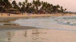 Пляжи Колва
