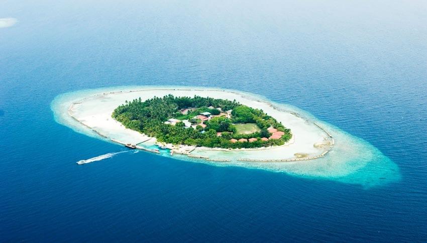 остров атолла Ари Мальдивы