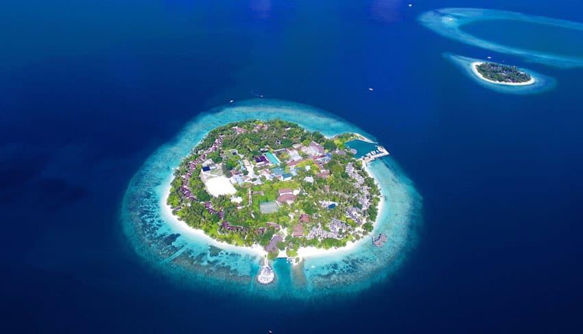 остров Северный Атолл Мале Мальдивы