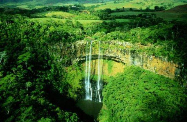 Пейзажи острова Маврикий