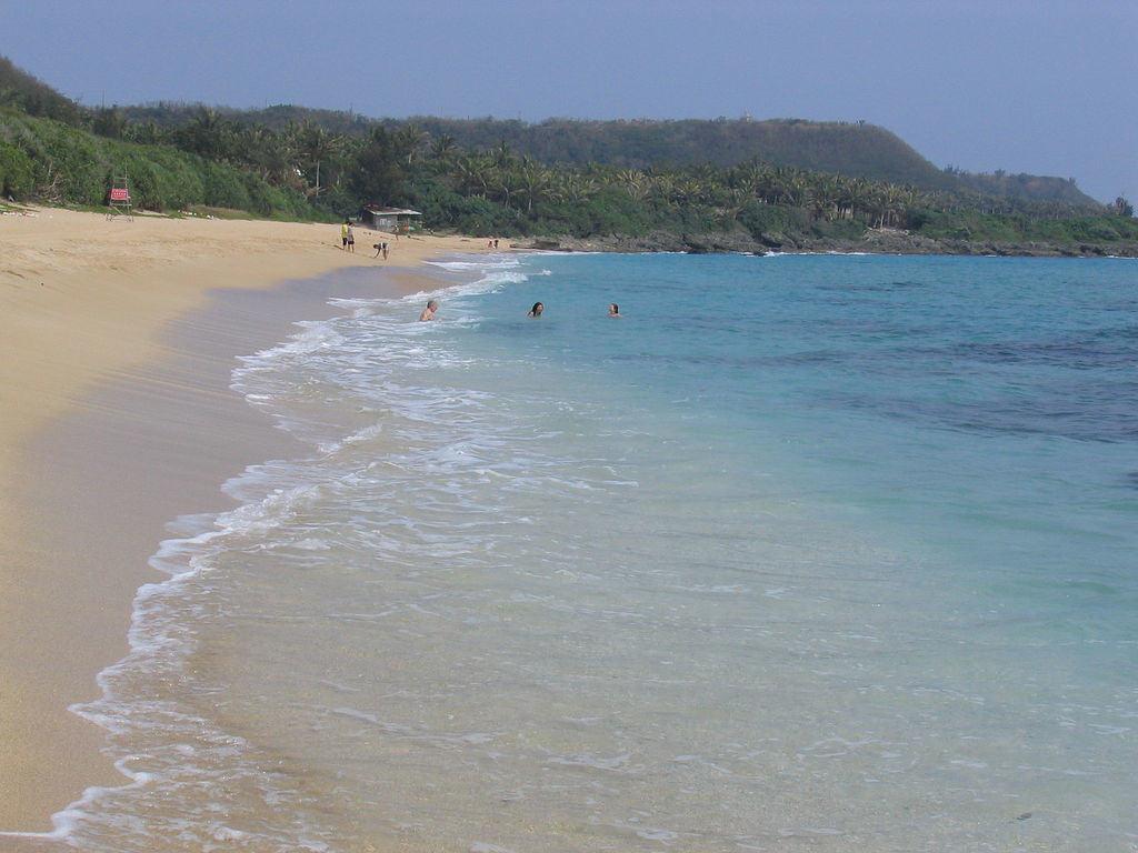 Пляж Тайваня