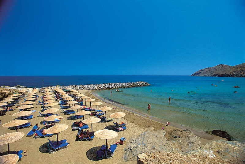 Пляж отеля Grecotel Club Marine Palace