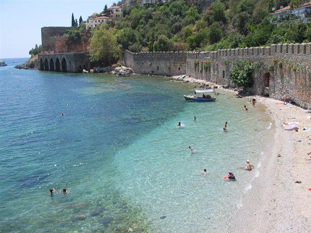 Пляжи с песком в Турции
