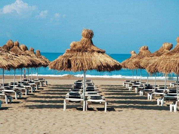 Лучшие пляжи Белека