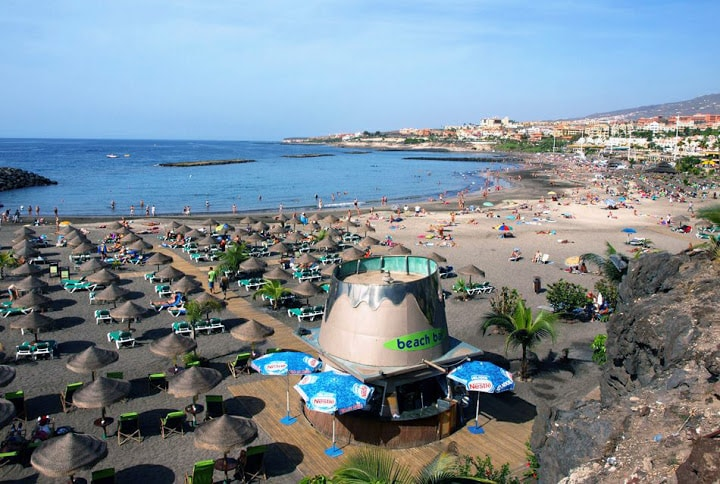 Пляжный отдых Испании