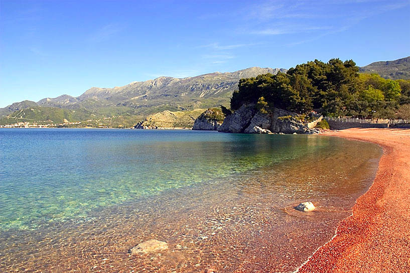 Фото пляжей Черногории