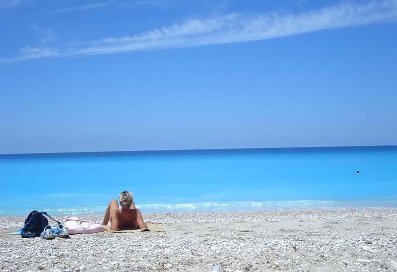 Фото пляжей Греции
