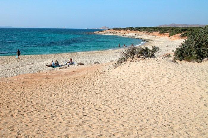 Пляж Наксос