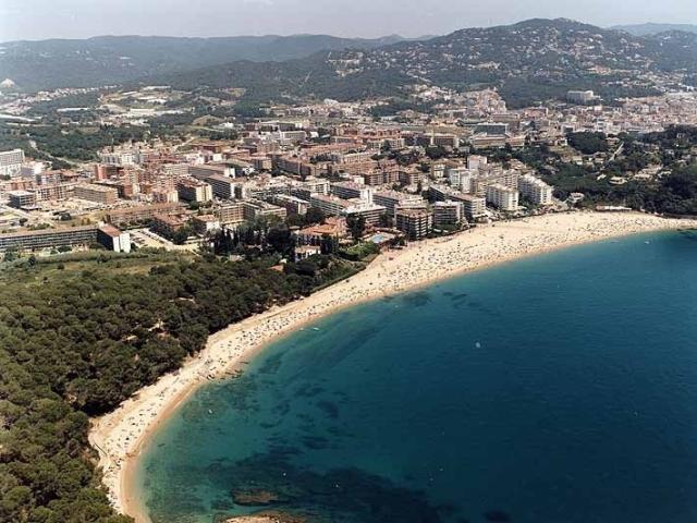 Пляж Ллорет в Испании