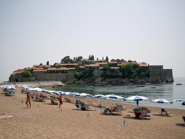 Пляж Доня Ластва