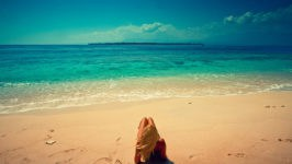 Песчаные пляжи Индонезии