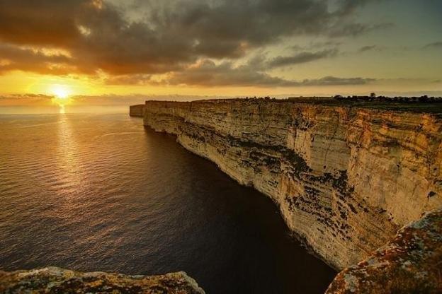 Мальта -фото заката