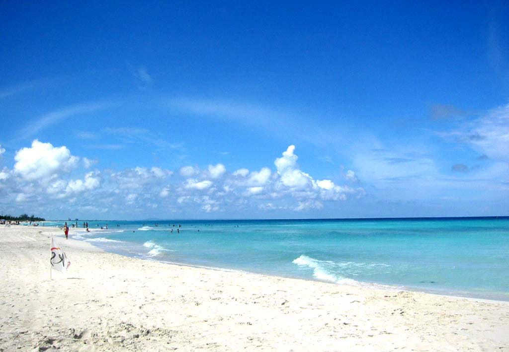 Пляж Варадеро на Кубе