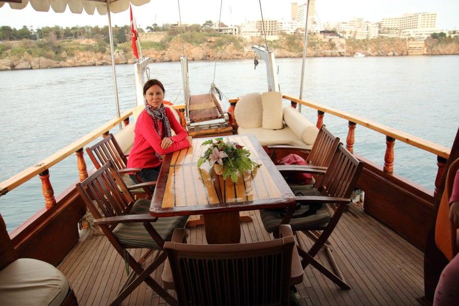 Прогулки на яхтах в Анталии