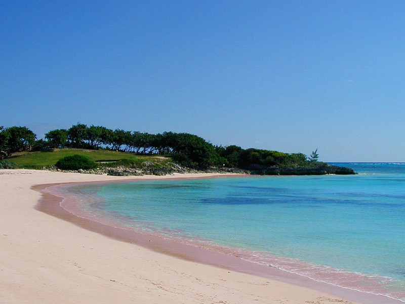 Пляжи на Багамских островах
