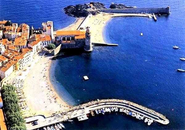 Пляж Collioure