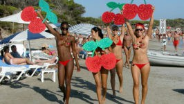 Пляжи Ибицы