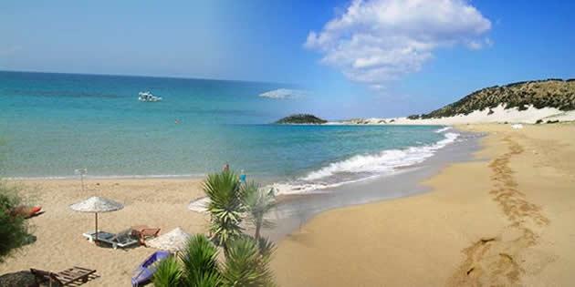Пляж в Караогланоглу